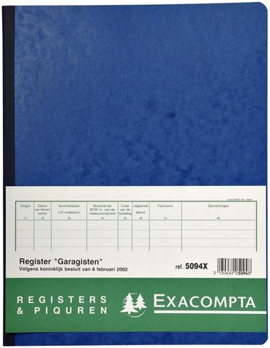 Register Piqure garagisten 320x250mm 80vel assorti