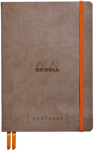 Bullet Journal Rhodia A5 60vel dots taupe