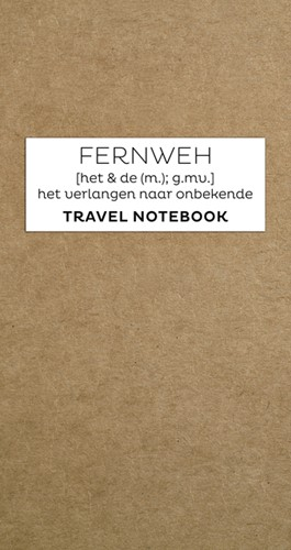 Travel Journal Fernweh navulling