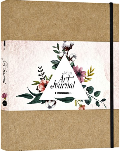 Art Journal A4 blanco bruin