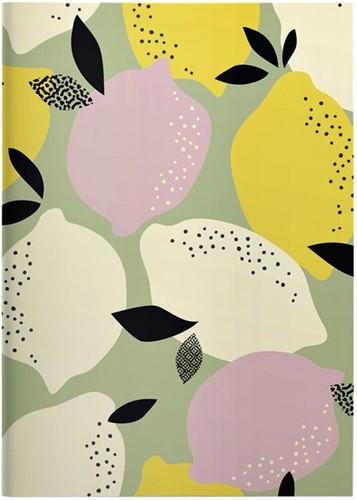 Schrift Greenline Lemons 105x148mm