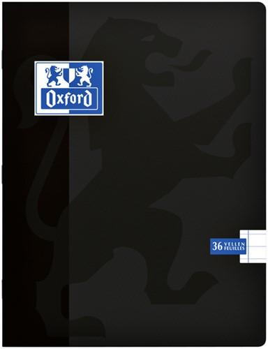 Schrift Oxford school A5 lijn 72blz zwart