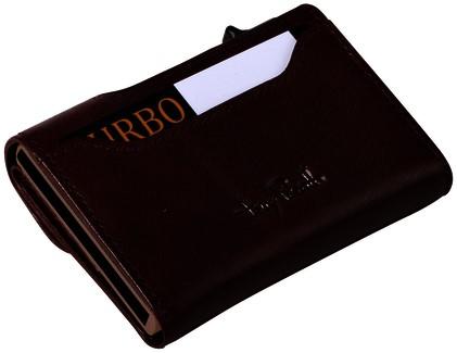 Portemonnee Tony Perotti Furbo RFID leer bruin