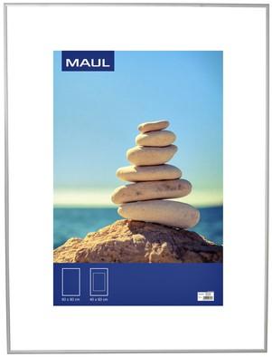 Fotolijst MAUL 60x80cm lijst zilverkleurig