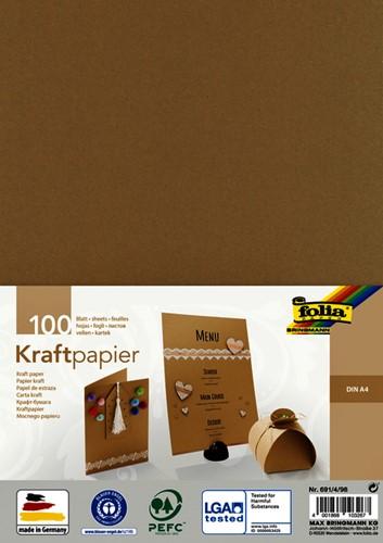 Kraftpapier Folia din A4 120gr