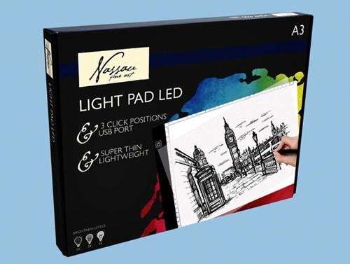 Lichtbak Art Sensations led A3
