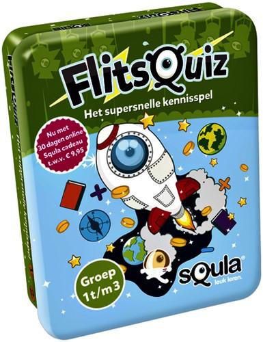 Kaartspel Squla Flitsquiz Groep 1/2/3