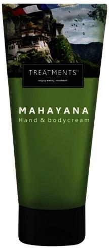 Hand & bodycrème Treatments Mahayana zijdezacht 200ml