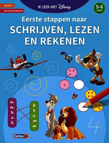 Speelboek Disney Eerste stappen naar schrijven, lezen en rekenen