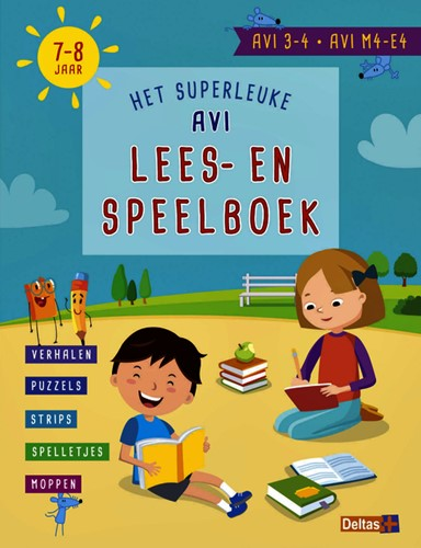 AVI Lees- en speelboek AVI 3-4 . AVI M4-E4