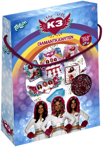 Knutselset Totum K3 Diamond painting