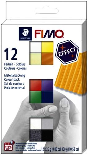 Klei Fimo  effect colour ass