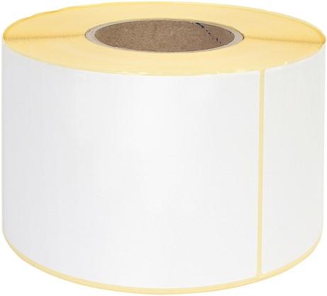 Zebra labeletiket Quantore 800740-605 102x150mm 76mm wit permanent