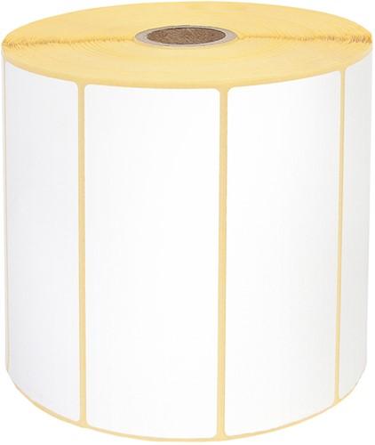 Zebra labeletiket Quantore 880191-038D 102x38mm 25mm wit permanent