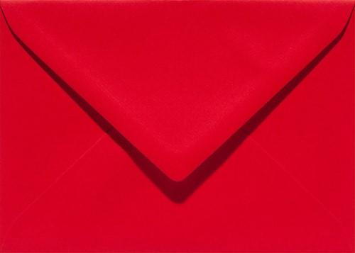 Envelop Papicolor EA5 156x220mm rood