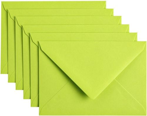 Envelop Papicolor C6 114x162mm Appelgroen