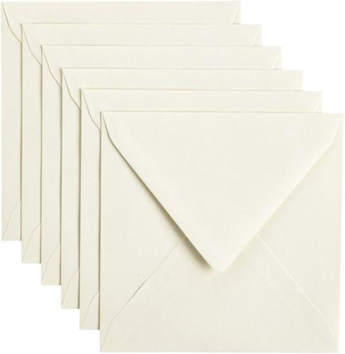 Envelop Papicolor 140x140mm Anjerwit