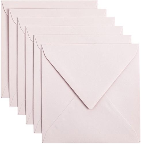 Envelop Papicolor 140x140mm Lichtroze