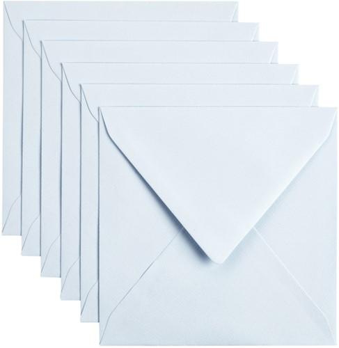 Envelop Papicolor 140x140mm Babyblauw