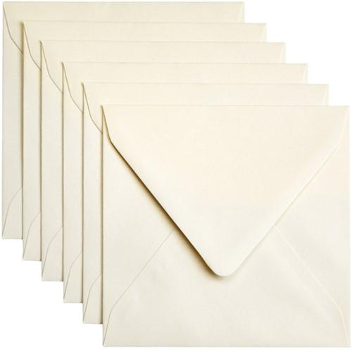 Envelop Papicolor 140x140mm Ivoor