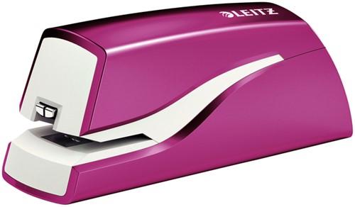 Nietmachine Leitz WOW NeXXt elektrisch roze