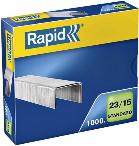 Nieten Rapid 23/15 gegalvaniseerd standaard 1000 stuks