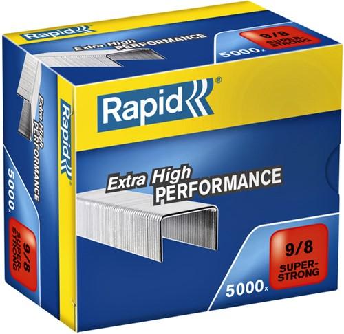 Nieten Rapid 9/8 gegalvaniseerd super strong 5000 stuks