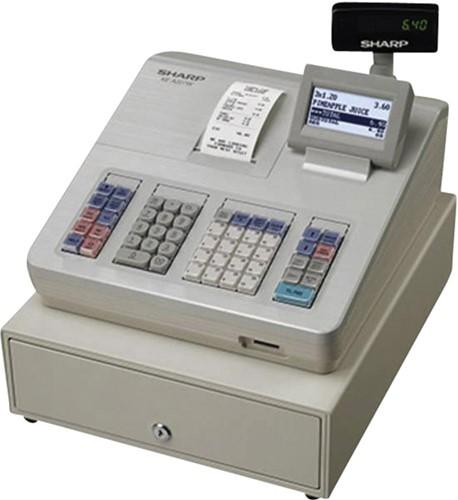 Kassa Sharp XE-A207W grijs