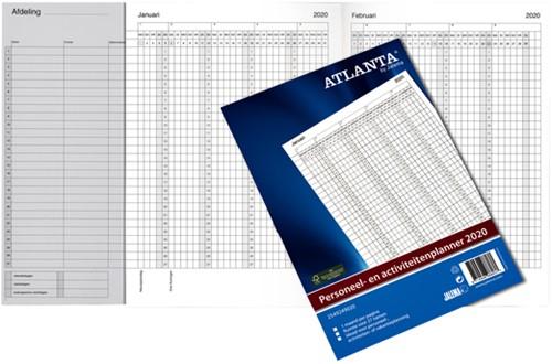 Jaarplanner 2022 Atlanta personeel- en activiteitenplanner
