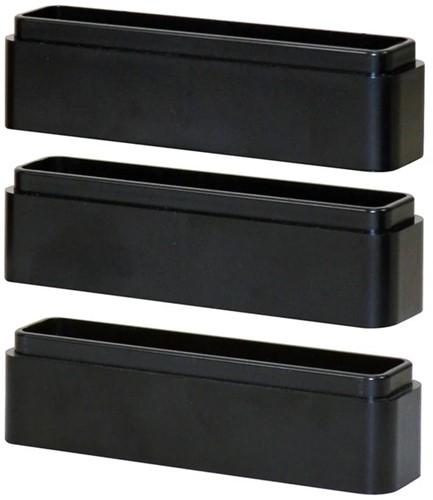 Monitor standaard verhoogblokjes Quantore zwart