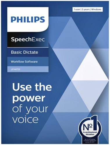 Licentie Philips LFH4722 SpeechExec Basic Dictate