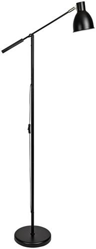 Vloerlamp MAUL Finja excl. lamp zwart
