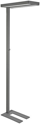 Vloerlamp MAUL Javal LED dimbaar aluminium