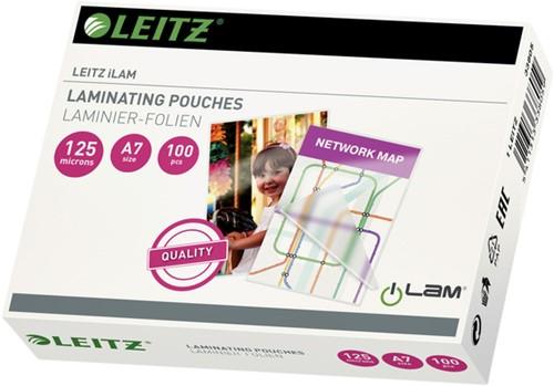 Lamineerhoes Leitz A7 2x125micron EVA 100stuks