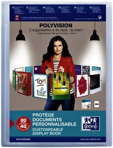 Showmap Oxford Polyvision 40-tassen transparant