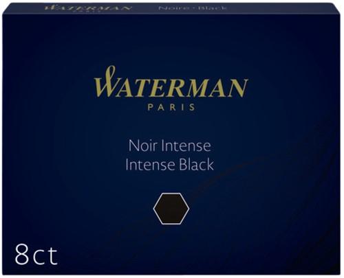 Inktpatroon Waterman nr23 lang zwart
