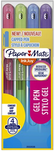Gelschrijver Paper Mate Inkjoy 600 Stick fun assorti