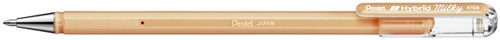Gelschrijver Pentel K108-P 0.5mm pastel oranje