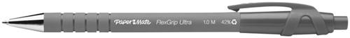 Balpen Paper Mate Flexgrip Ultra zwart medium 30+6 gratis