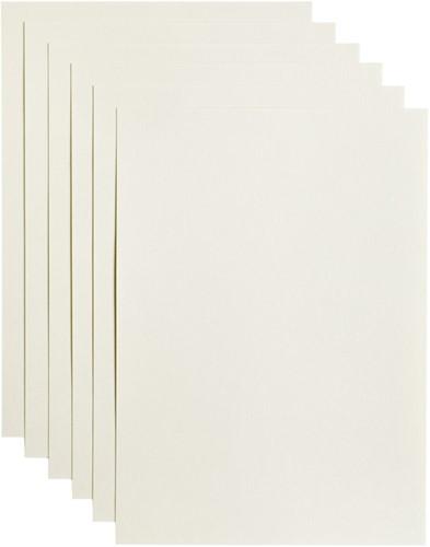 Kopieerpapier Papicolor A4 200gr 6vel anjerwit