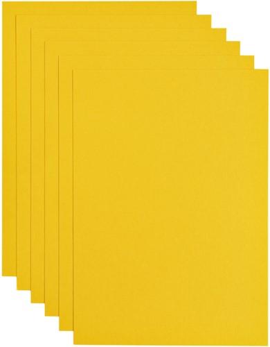 Kopieerpapier Papicolor A4 100gr 12vel dottergeel