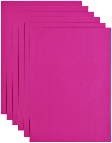 Kopieerpapier Papicolor A4 200gr 6vel felroze