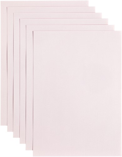 Kopieerpapier Papicolor A4 100gr 12vel lichtroze