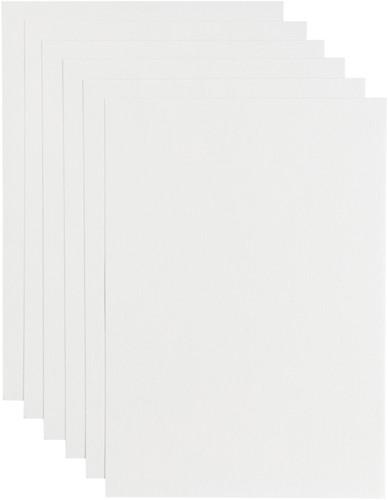Kopieerpapier Papicolor A4 200gr 6vel hagelwit