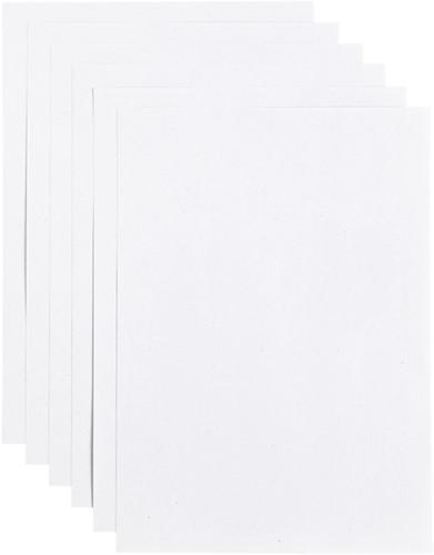 Kopieerpapier Papicolor A4 200gr 6vel kraft wit