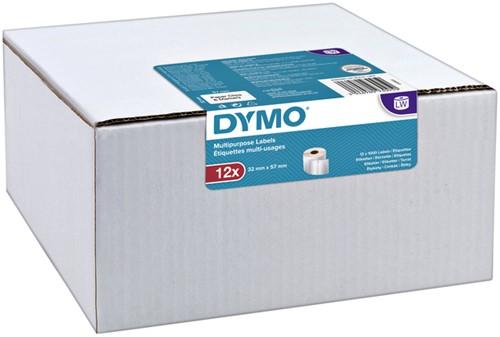 Etiket Dymo 11354 labelwriter 32x57mm 12000stuks