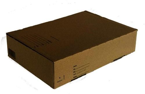Postpakketbox Budget 5 430x300x90mm bruin