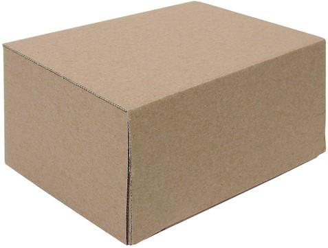 Postpakketbox Budget 7 485x369x269mm bruin