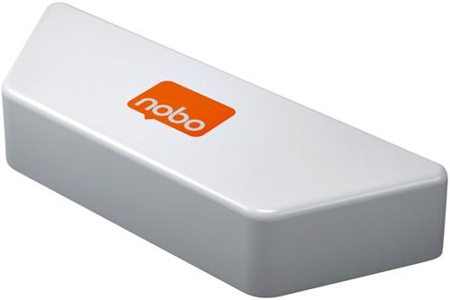 Whiteboardwisser Nobo magnetisch met verwisselbare strips