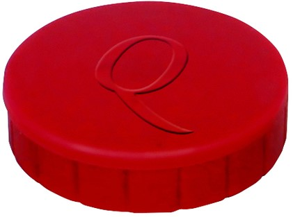 Magneet Quantore 20mm 300gram rood 10stuks
